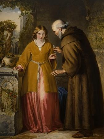 Juliet and the Friar 'Take Thou This Phial'