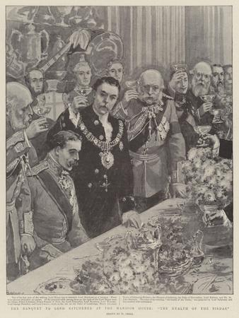 The Banquet to Lord Kitchener at the Mansion House, The Health of the Sirdar