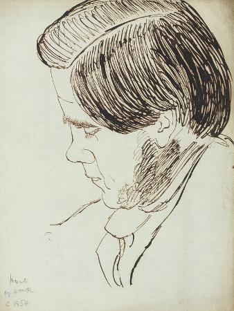 Portrait of William Holman Hunt, 1854