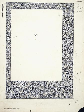 Original Drawing for a Full-Page Border