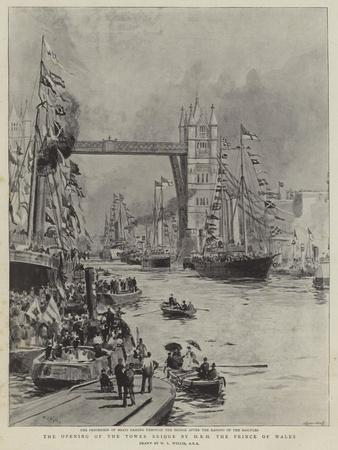 The Opening of the Tower Bridge by Hrh the Prince of Wales