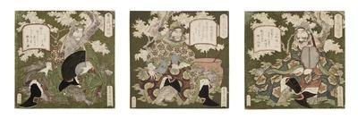 Number One: Liu Bei; Number Two: Guan Yu; Number Three: Zhang Fei, 1823-25