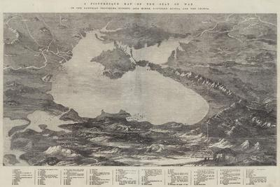 A Picturesque Map of the Seat of War