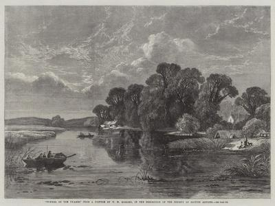 Summer on the Thames, in the Exhibition of the Society of British Artists