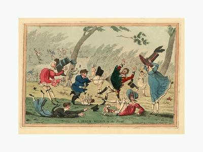 A High Wind in the Park! 1819