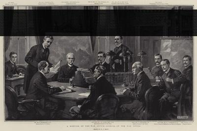 A Meeting of the War Office Council at the War Office