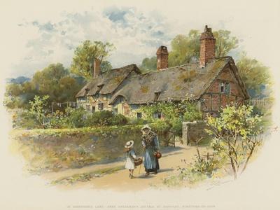 In Shakspere's Land, Anne Hathaway's Cottage at Shottery, Stratford-On-Avon
