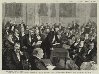 A Meeting of the Royal Colonial Institute at Prince's Hall