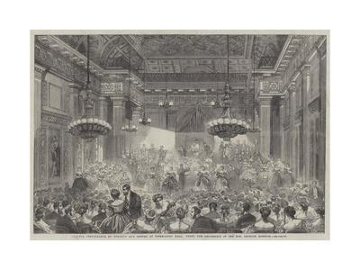 Amateur Performance by Nobility and Gentry at Freemasons' Hall