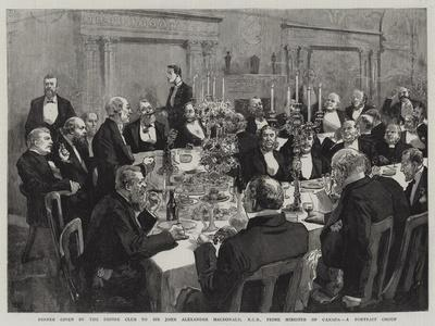 Dinner Given by the Empire Club to Sir John Alexander Macdonald