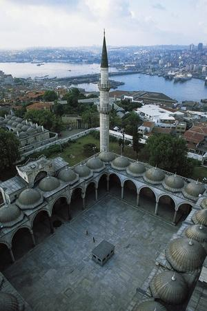 Courtyard of Suleymaniye Mosque (Suleymaniye Camii)