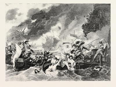 Destruction of the French Ships in the Bay of La Hogue