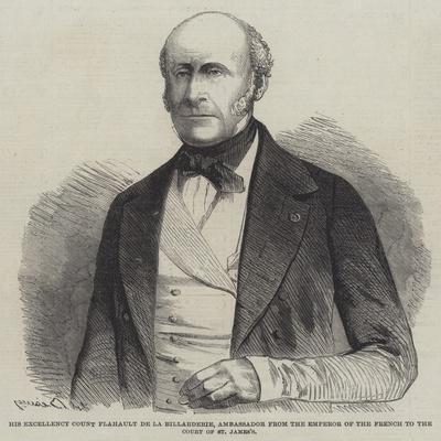 His Excellency Count Flahault De La Billarderie
