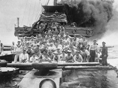 Group Portrait of Some Unidentified Members of the Crew of Hmas Sydney