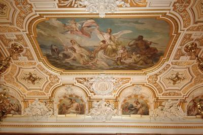 Fresco on Ceiling of Emperor's Hall (Named after Wilhelm Ii)