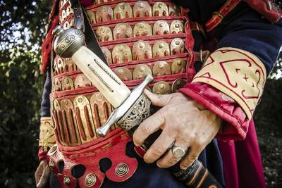 Historical Reenactment: Byzantine Soldier