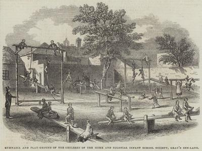 Gymnasia and Play-Ground of the Children of the Home and Colonial Infant School Society