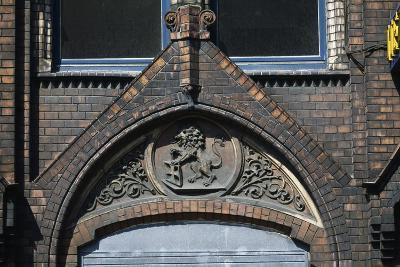 Frieze Above the Entrance to the Hebebrand Textile Factory (Founded in 1881)