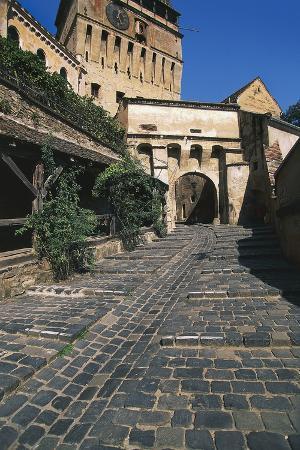 Gate in Citadel Walls under Clock Tower