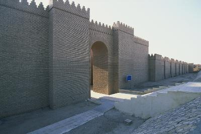 Gateway to the South Palace of Nebuchadnezzar Ii