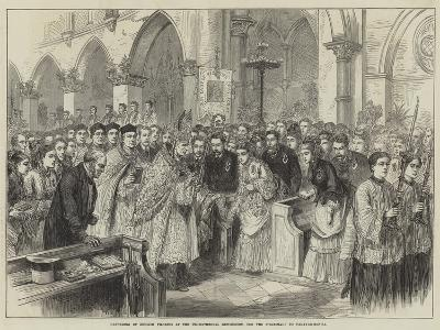 Gathering of English Pilgrims at the Pro-Cathedral Kensington