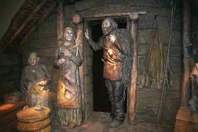 Inside House of Ancient Viking Village