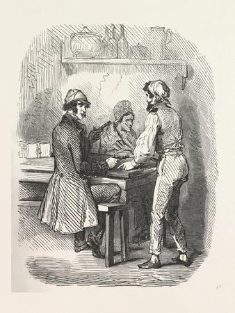 Interior with Men
