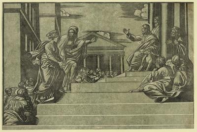 Martha and Mary Magdalene before Christ