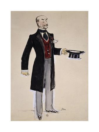 Portrait of Alexandre Duval the Restorer in Paris
