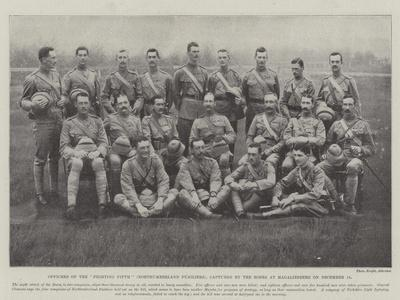 Officers of the Fighting Fifth (Northumberland Fusiliers)