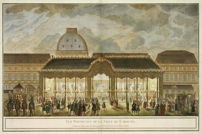 Perspective View of the Carousel Room
