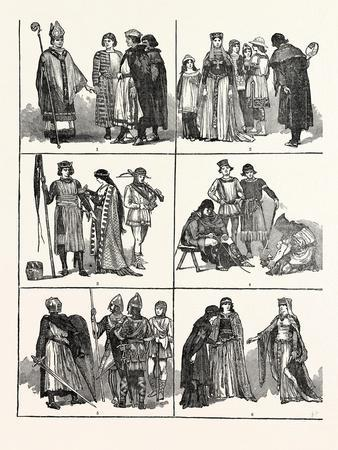 Norman Costumes of the Eleventh and Twelfth Centuries