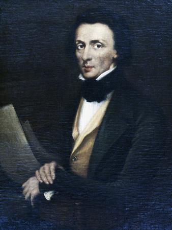 Portrait of Frederic Chopin (Zelazowa Wola
