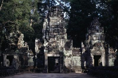 Preah Khan Temple in Angkor Archaeological Complex (Unesco World Heritage List