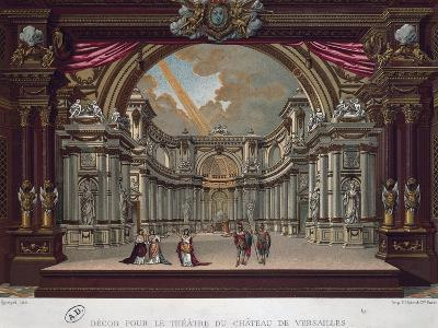 Preparation for Performance in Theatre at Palace of Versailles