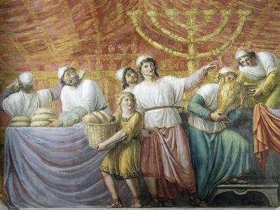 Preparation of Jewish Feast