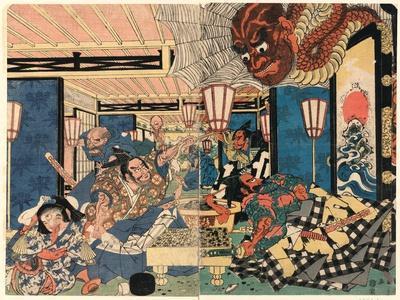 Raiko Shitenno to Tsuchigumo