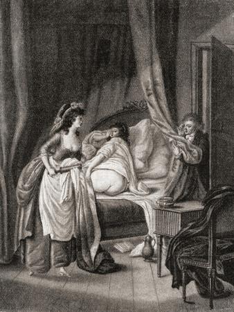 The Enema. from Illustrierte Sittengeschichte Vom Mittelalter Bis Zur Gegenwart by Eduard Fuchs
