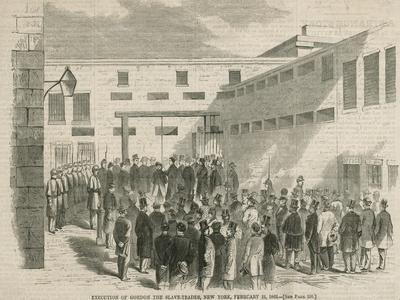 The Execution of Nathaniel Gordon