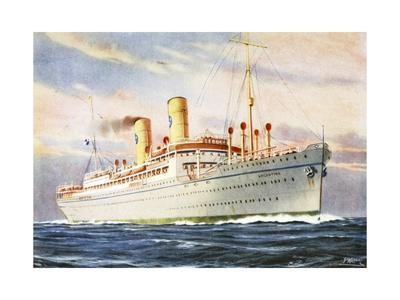 The Italian Steamship the Argentina
