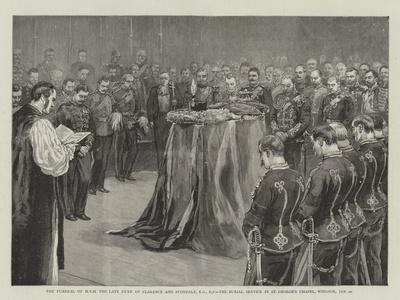 The Funeral of Hrh the Late Duke of Clarence and Avondale