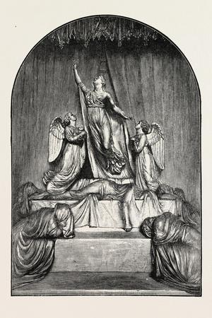 The Princess Charlotte Monument. the Princess Charlotte Augusta