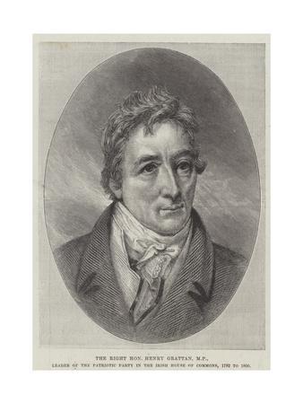 The Right Honourable Henry Grattan