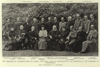 The Marquess of Salisbury's Visit to Ulster