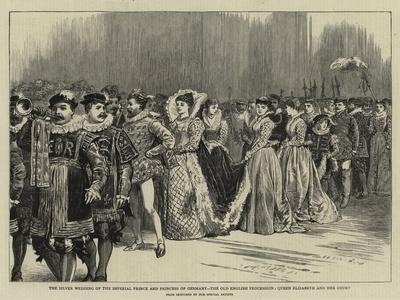 The Silver Wedding of the Imperial Prince and Princess of Germany