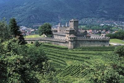 View of Montebello Castle