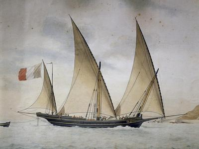 Xebec the Genereuse Captained by Joseph Francois D'Agostini