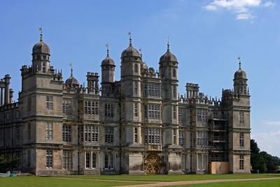West Facade of Burghley House (16th Century)