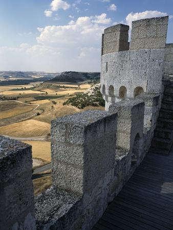 View from Walls of Penafiel Castle