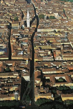 View of the Via Emilia